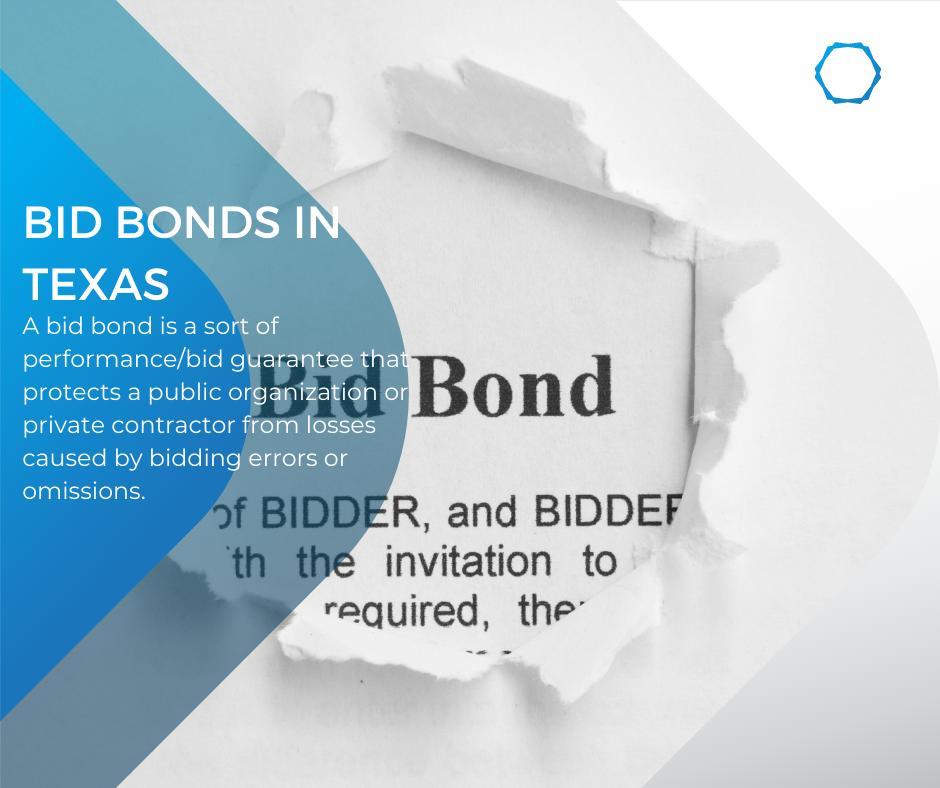 Bid Bonds in Texas - How Can I Purchase a Bid Bond in Texas? Posted on September 27, 2021 by BondWriter bid-bond In Texas, how can I obtain a bid bond - bid bond in blue and white background