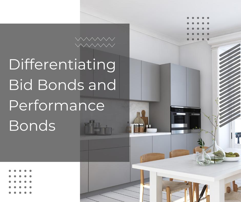 Bid Bonds - Differentiating Bid Bonds and Performance Bonds - Modern Kitchen in Gray Scheme - Gray Background