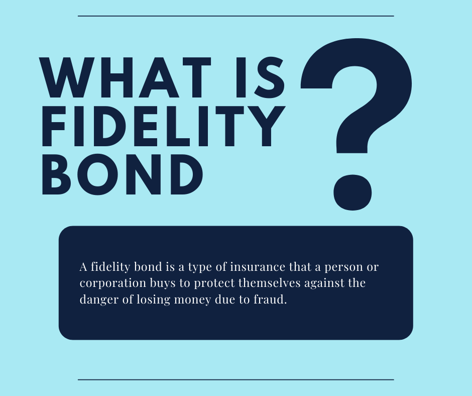 Fidelity Bond - What Is a Fidelity Bond and How Does It Work - Fidelity Bond in Blue Background