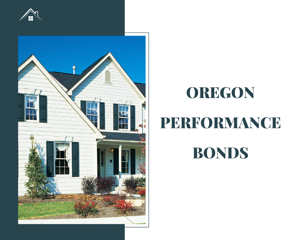 Oregon Performance Bond - What Is a Performance Bond - Modern House in White and Blur Green