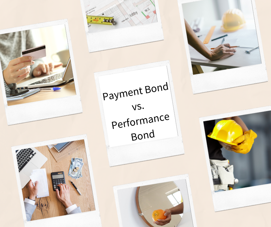 Payment Bond - What is the definition of a payment bond - Payment and Performance Bond Images in Pink Background