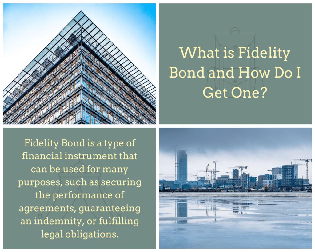 Fidelity Bond - What Is a Fidelity Bond? - Buildings in Blue Background