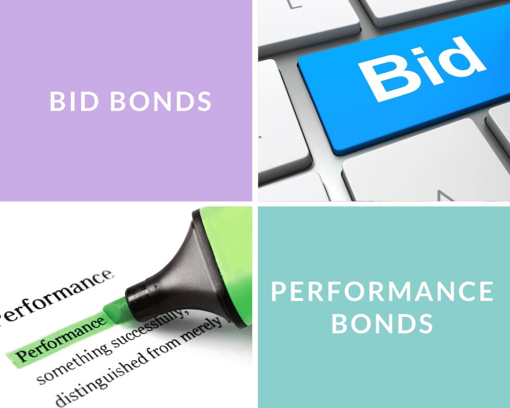 Bid Bonds vs Performance Bonds - What is a Bid Bond - bid bond and performance bond in collage