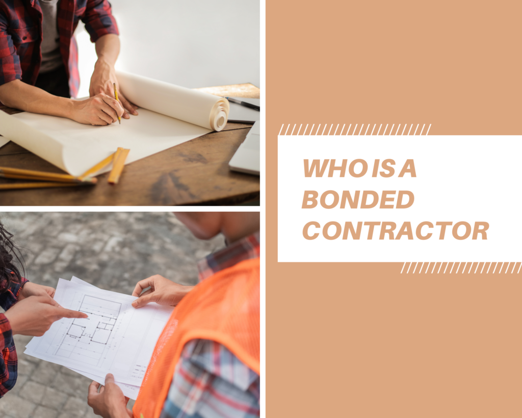 Bonded Contractor - What Is a Bonded Contractor?- contractors in brown background