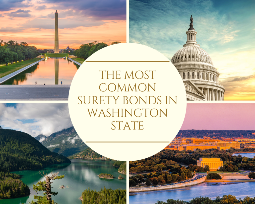 surety bonds in washington - What is Washington Auctioneer or Auction Company Surety Bond - four pics of beautiful places in washington