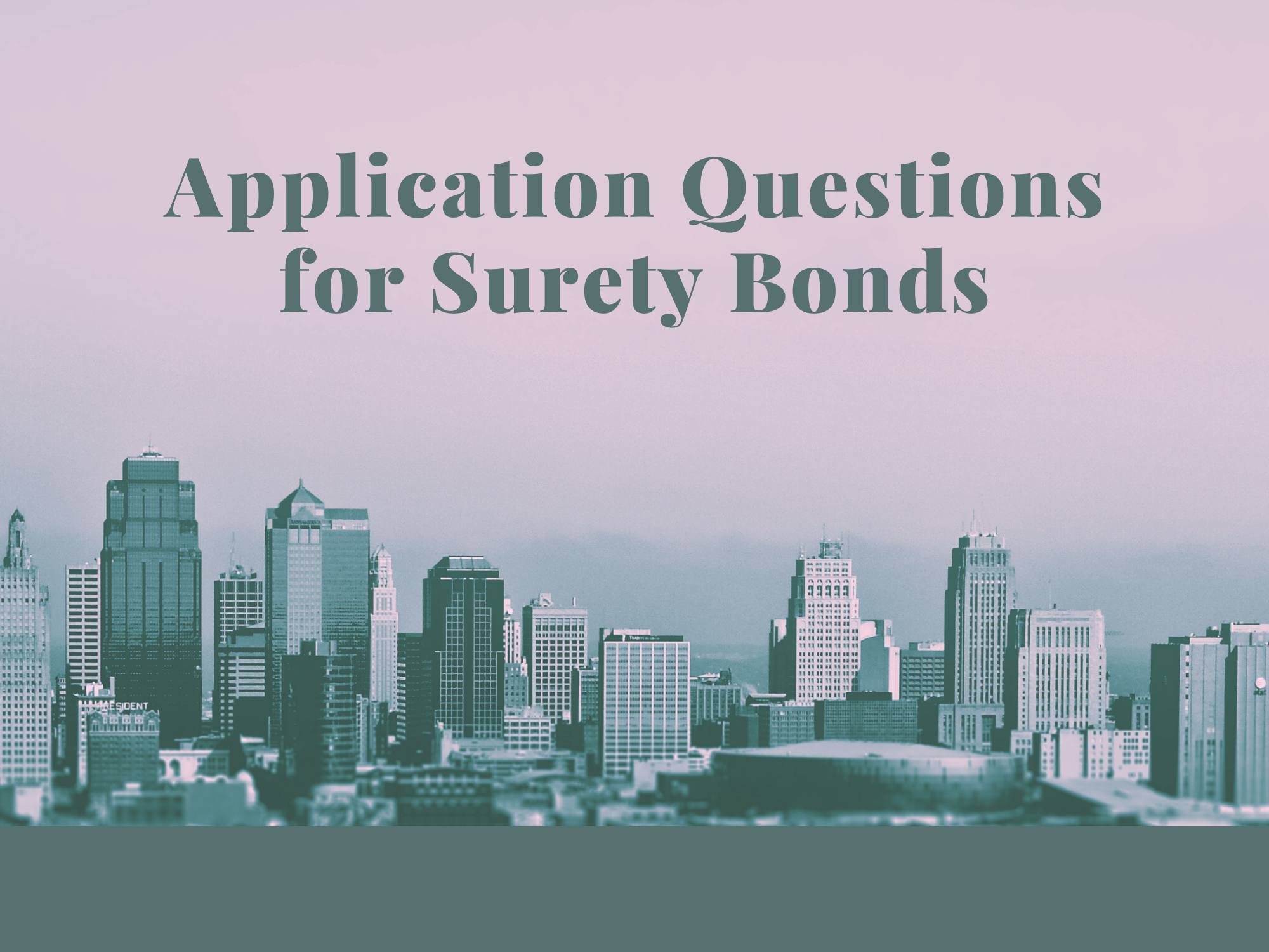 surety bonds - do indemnification agreements have a time limit - buildings in light grey shade