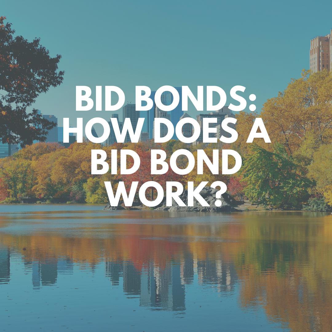 bid bond - what is a bid bond - view of a lake