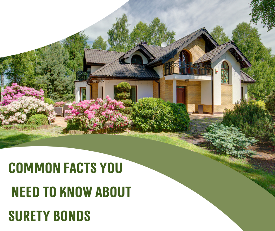 Facts About Surety Bonds - What are the different types of Surety Bonds - Lush Green Garden in White Background