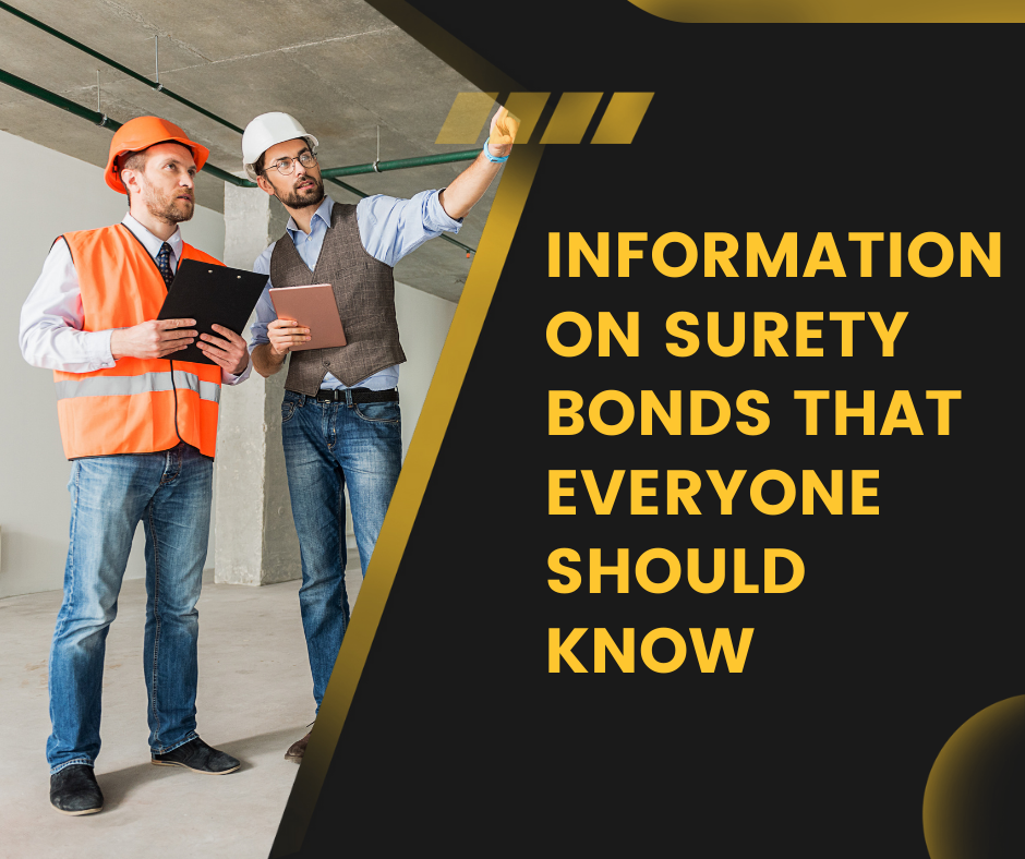 Surety Bond - what are the many forms of surety bond available, information on surety bonds that everyone should know - contractors inspecting the construction
