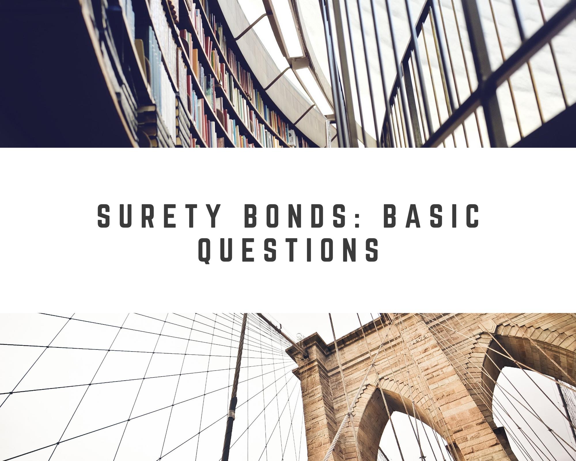 surety bonds - what is a surety bond - inspiring architecture
