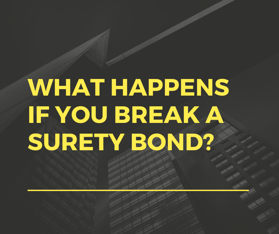 surety bonds - when can you release a surety bond - buildings in black and white