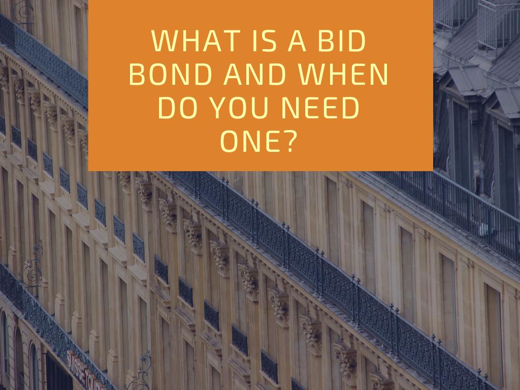 bid bonds - what is a bid bond - building with lots of windows