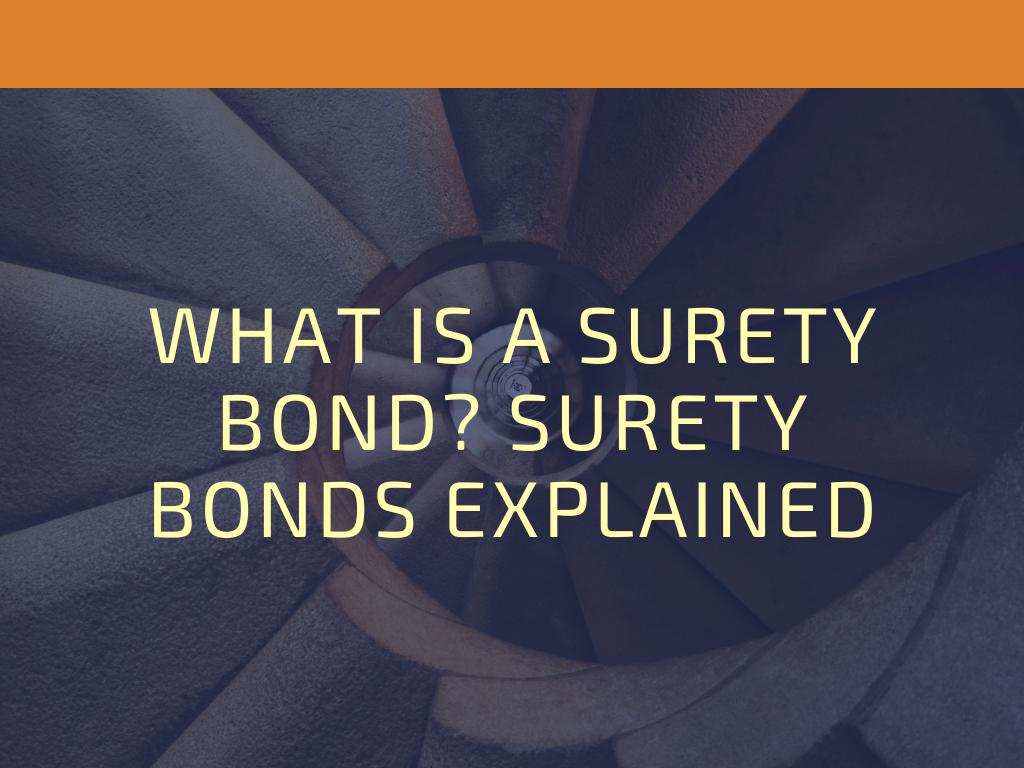surety bonds - when is a surety bond needed - spiral staircase