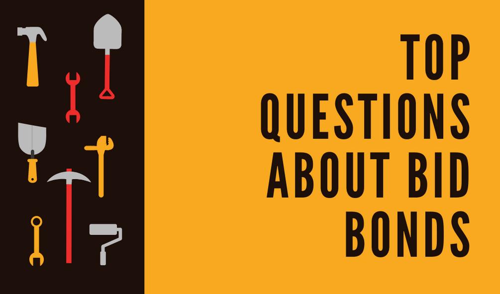 bid bonds - how do i get a bid bond - construction materials in black and yellow